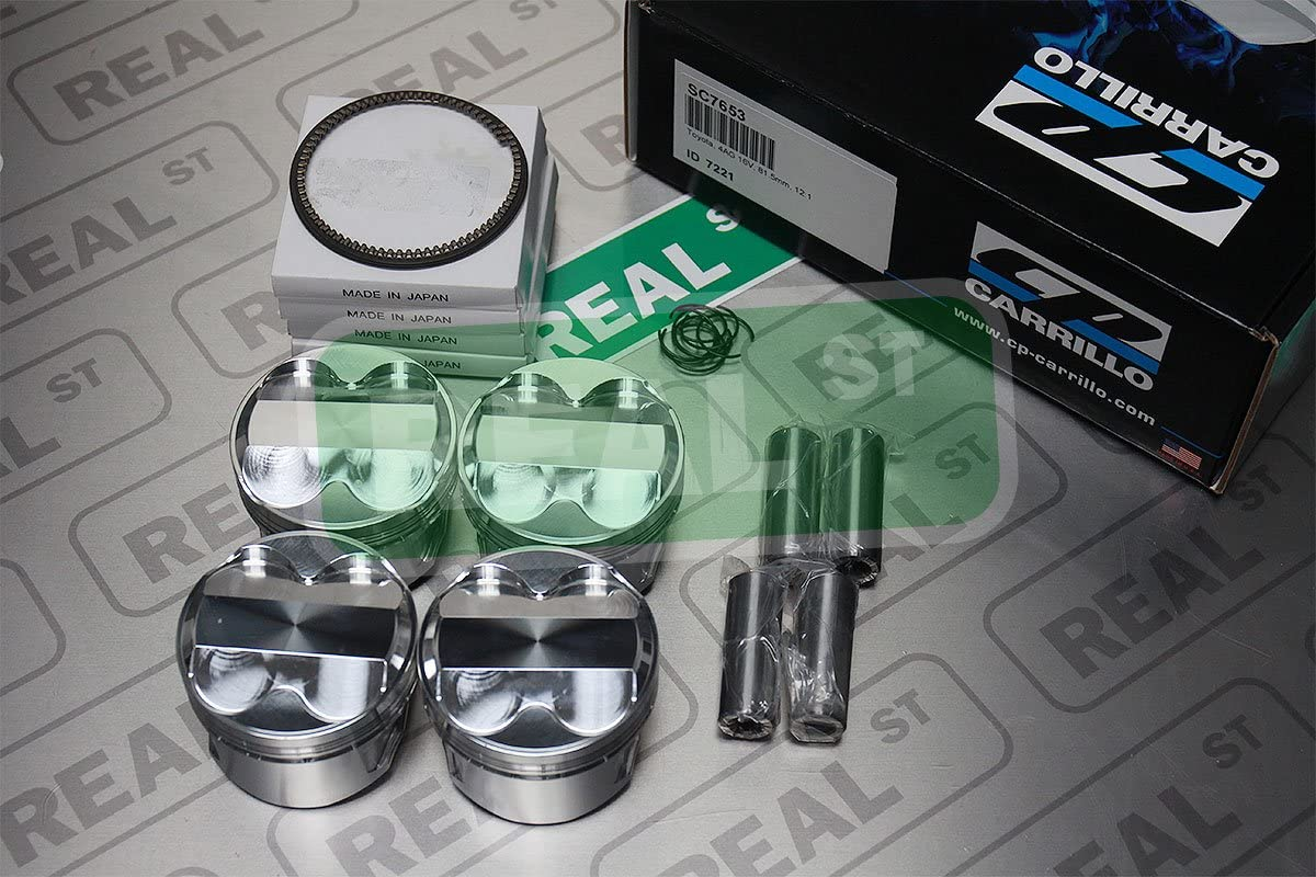 CP Pistons SC7653 Piston and Ring Max 80% OFF Toyota Set Pack of for shipfree 4