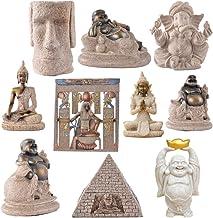 Baoblaze The Hue Sandstone Maitreya Buddha Statue Sculpture Hand Carved Figurine #1