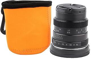 EBTOOLS 50mm F1.8 Demi-Cadre Portrait Objectif Focal Fixe, Objectif de Caméra sans Miroir E & NEX Mont avec Sac Objectif p...