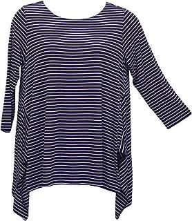 Women's Violet Stripe Vancouver Tunic