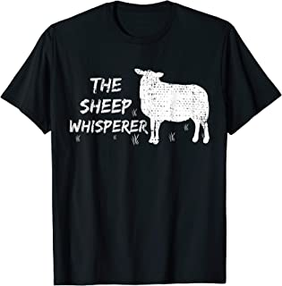 The Sheep Whisperer Tshirt Farmer Gift Animal Vintage Shirt