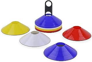 /Morado. /Rojo/ /Verde/ /Amarillo/ Vinex Set de 20/Cono de Deportes Markes con Bolsa de Transporte/ /Azul/
