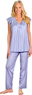 Shadowline Women's Silhouette Short Cap Sleeve Pajama Set