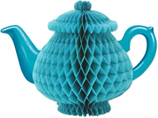 Beistle 59947 Tissue Teapot Centerpiece, 7