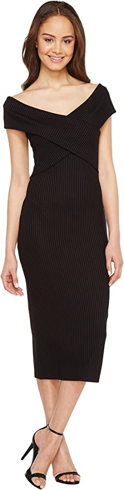 MICHAEL Michael Kors - Crossover Neck Sleeveless Dress