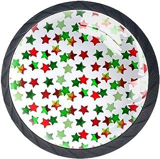 Boutons de tiroir Poignées d'armoire rondes Pull pour bureau à domicile cuisine commode armoire décorer,Étoiles sombres
