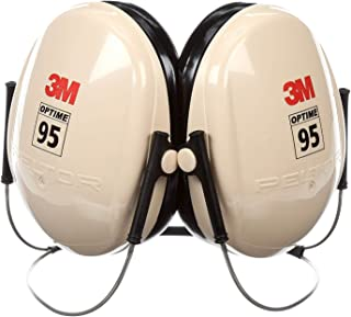 3M Peltor Optime 95 Behind-the-Head Earmuffs, Hearing Conservation H6B/V