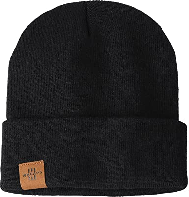 Winter Beanie Hats for Men and Women, Stretchy Soft Daily Stocking Cap, Gifts for Dad Mom Him Her