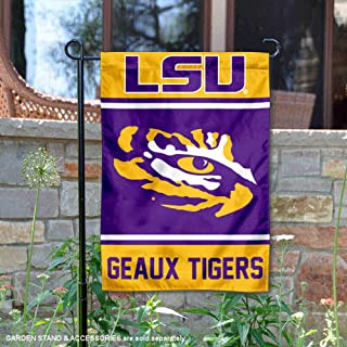 College Flags & Banners Co. Louisiana State LSU Tigers Garden Flag