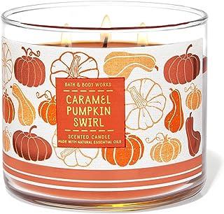Bath & Body Works 3-Wick Scented Candle in Caramel Pumpkin Swirl