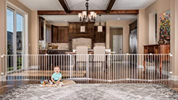 Regalo 192-Inch Super Wide Gate and Play Yard, White : Amazon.ca: Baby
