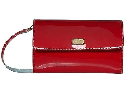 Frances Valentine Kelly Crossbody (Red) Handbags