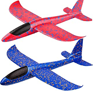 BooTaa 2 Pack Airplane Toys, 17.5