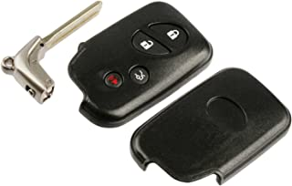 Key Fob Keyless Entry Smart Remote Shell Case & Pad fits Lexus
