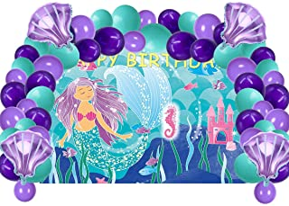 Ariel Birthday Party Supplies
