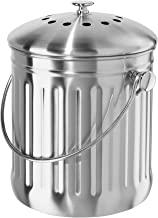 Oggi Stainless Steel Counter Composter with Charcoal Filter