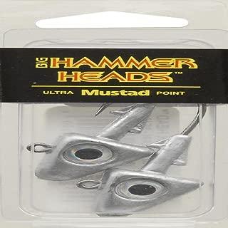 Big Hammer Jig Head with 4/0 Hook, Plain, 1-Ounce