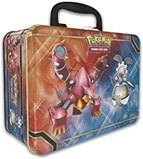 Pokemon 2016 Collectors Chest Treasure Tin: Volcanion, Magearna and Shiny Mega Gengar-EX