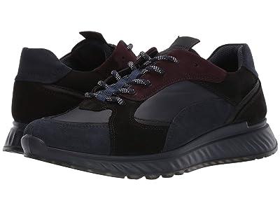 ECCO ST1 Trend Sneaker (Navy/Night Sky/Fig) Men