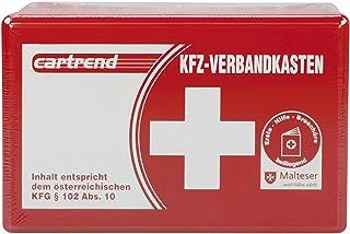 Cartrend 50209 Förbandslåda för Österrike, innehåll överensstämmer med Österrikisk KFG 102 ABS 10