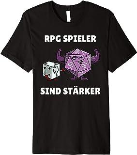 RPG Spieler sind stärker - Boardgame T-Shirt Pen and Paper