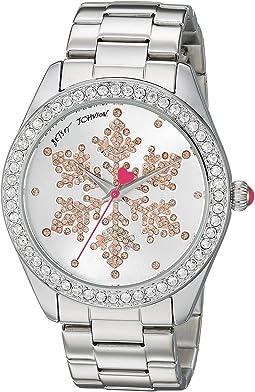 BJ00048-288 - Snowflake Motif Silver Dial Watch