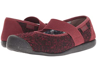 Keen Sienna MJ Wool (Fried Brick/Raven) Women