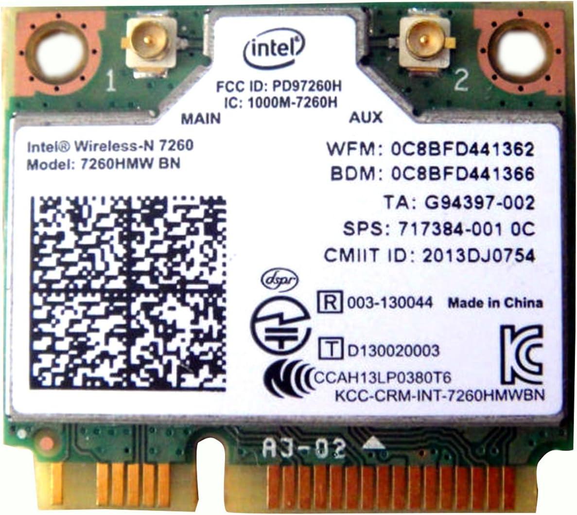 Intel Translated Wireless-n 7260 7260hmw Bn Complete Free Shipping Half Pci-e Bluetooth Bt Wi Mini