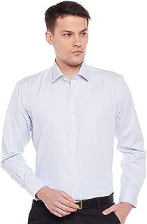 Lamode Men's Stripe Sky Blue Stripe Formal Shirt897