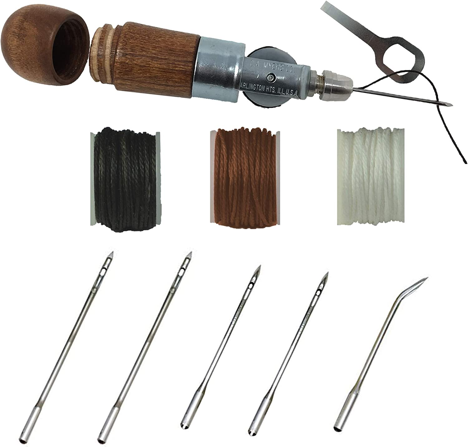 Max 76% OFF Professional Leathercraft Accessories Sewing Too Stitching Max 79% OFF Awl
