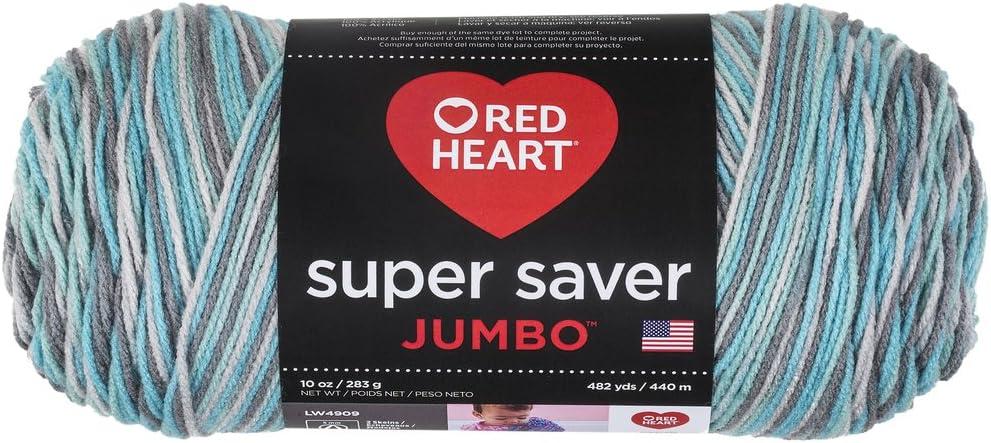 Red Heart Super Saver Jumbo E302C, Icelandic