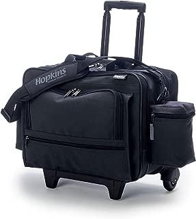 Hopkins Medical Products Rolling Medical Bag for Home Health Nurses - Black