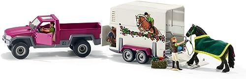 precios bajos Horse Club 42346 Pick Up with Horse Horse Horse Box by Horse Club  Con 100% de calidad y servicio de% 100.