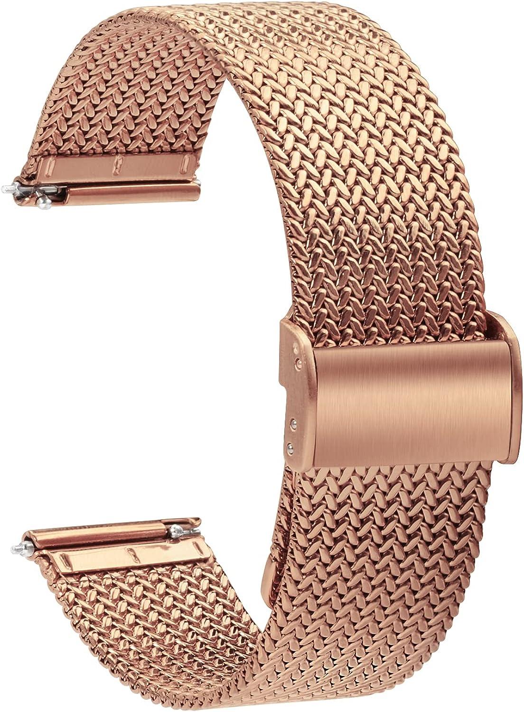 Ultra-Cheap Deals TStrap Mesh Watch Strap Metal - for M Quick Straps Trust Release