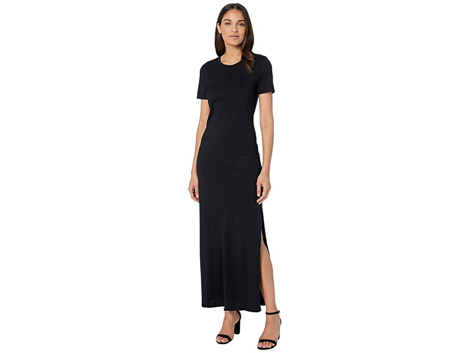 Image of AG Adriano Goldschmied Alana Dress (True Black) Women's Clothing