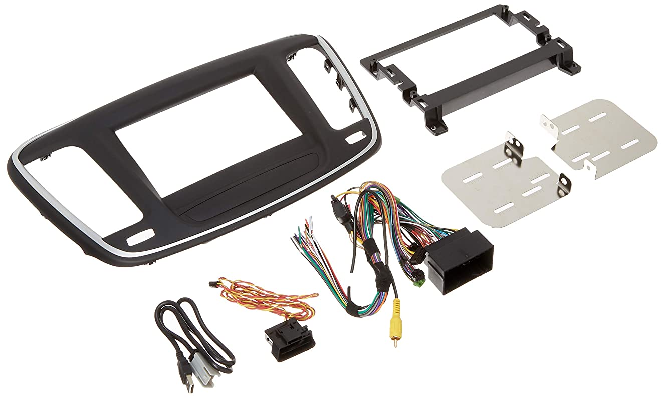 Maestro KIT-C200 Dash Kit, USB Adaptor and T-Harness for 2015 and up Chrysler 200