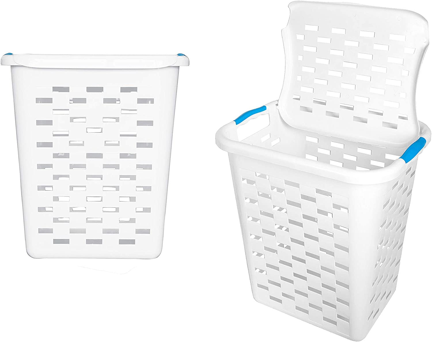 Clorox Max 64% OFF Max 52% OFF Plastic Laundry Baskets with Protection Antimicrobial 2