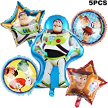 5 Pack Toy Story Balloon Party Supplies 30