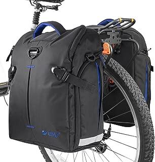 BV Borse Laterali da Bicicletta con Ganci Regolabili e Maniglia per il Trasporto