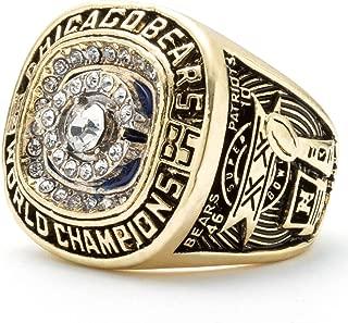 OMG-LIFE Football Replica Championship Ring Size 9/10/11/12
