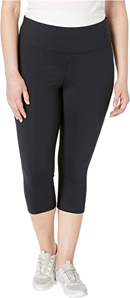 "Plus Size High-Rise ""SS"" Capris"