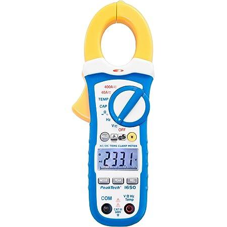 Peaktech 1670 True Rms Stromzange Mit 4 0 Bluetooth App 1000a Ac Dc Led Lampe 50000 Counts Multimeter Zangenmessgerät TÜv Gs Strommesszange Spannungsmesser Strommessgerät Durchgangsprüfer Gewerbe Industrie Wissenschaft