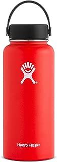 Hydro Flask W32TS611 Mouth 32 oz. Wide Water Bottle,  (946 ml),  Lava