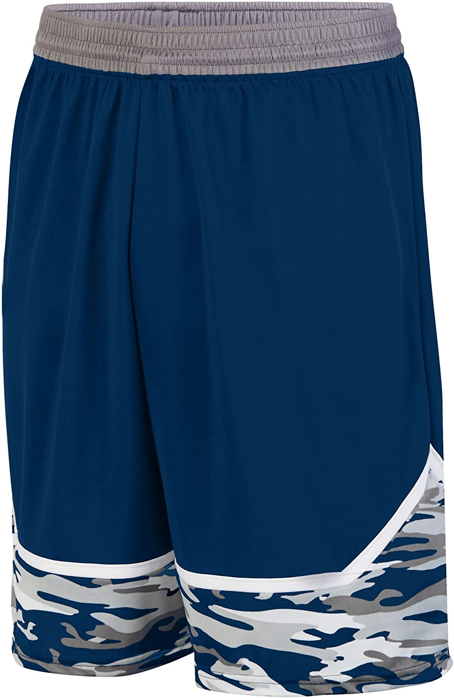 Augusta Sportswear Boys' Mod Camo Game Short S Navy Graphite White