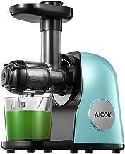 Black//Green Aicok AMR521 Slow Masticating Juicer