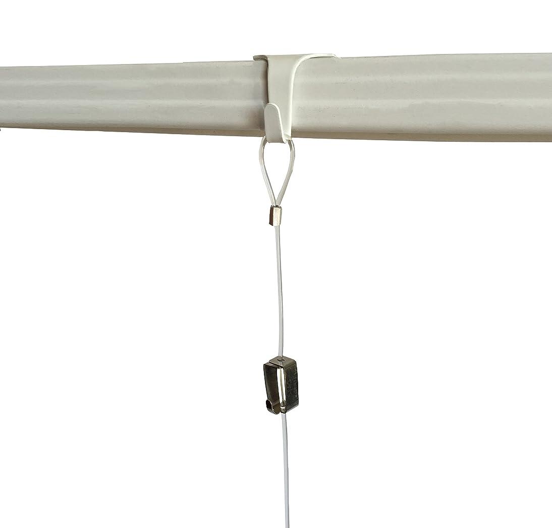 10 Pack each STAS Moulding Hooks + Perlon Cords with Loop + Smartspring Hooks (59