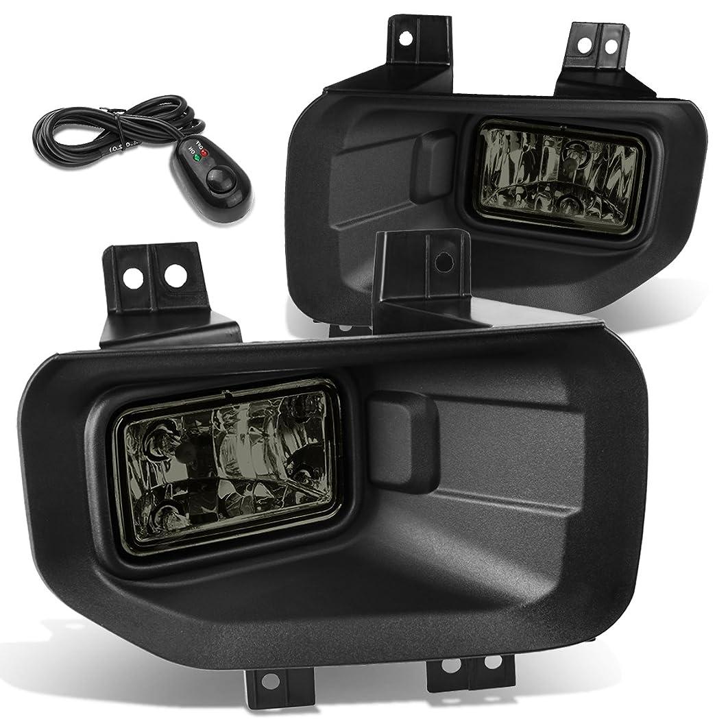 DNA Motoring FL-ZTL-810-SM Smoked Lens Fog Light+Switch [For 15-17 Ford F150]