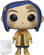 Funko Pop! Movies: Coraline - Coraline as a Doll Vinyl Figure (Includes Pop Box Protector Case)
