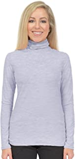 Women's Oh So Soft Long Sleeve Turtleneck Top | Poly/Spandex | Made in The USA