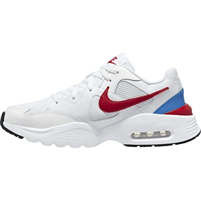Nike Air Max Fusion (White/Gym Red/Pacific Blue) Men